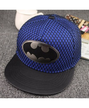 Fashionable Elliptical Alloy and Openwork Mesh Embellished Baseball Cap For Men