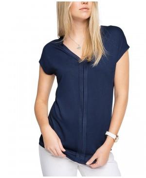 Esprit 046EO1K023 - T-shirt - Uni - Manches courtes - Femme