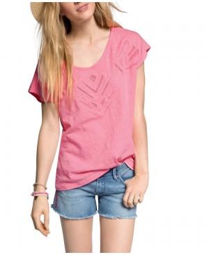 ESPRIT - T-shirt - Manches courtes Femme