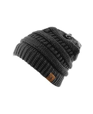 Original bonnet unisexe tricotté. Pour un look fabuleux lors de vos activités hivernales. Très chaud et assez grand pour couvrir les oreilles, il deviendra votre accessoire d'hiver préféré!