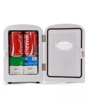 Cr01, Livraison gratuite, Voiture réfrigérateur mini réfrigérateur sac cosmétique, Dc12v / ac220v, Vache réfrigérateur chaudes et froides, Portable réfrigérateur, 4L