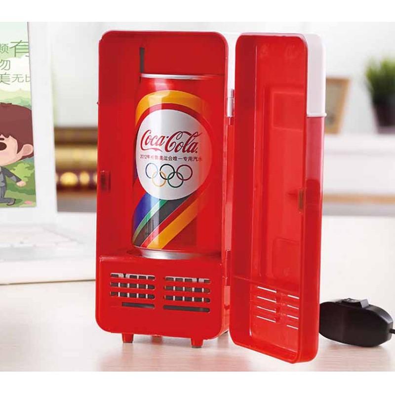 Portable Mini USB Cooler réfrigérateur congélateur réfrigérateur canettes de boissons pour Home Office livraison rapide