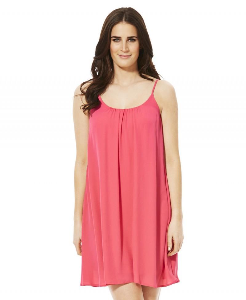 Robe rose pour femme