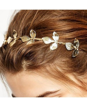 Delicate Retro Style Leaf Shape Hairband For Women