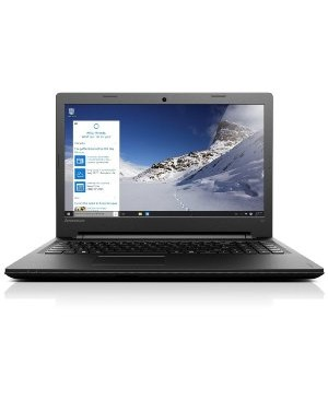 "Lenovo Ideapad 100-15IBY Ordinateur Portable 15"" Noir (Intel Celeron, 4 Go de RAM, Disque dur 500 Go, Intel HD Graphics, Windows 10)"