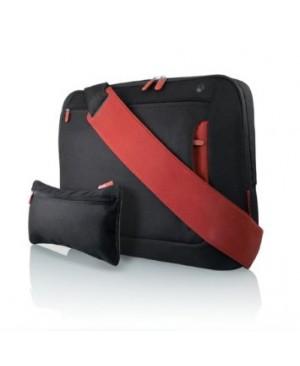 """Belkin F8N159eaBR Sac à dos pour ordinateur portable 17"""" Noir/rouge"""