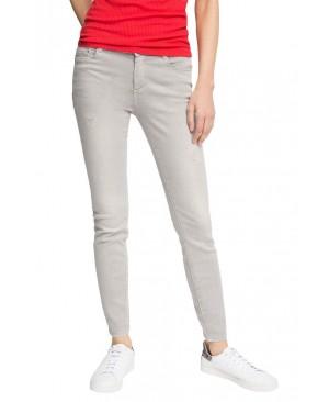 Esprit mit schöner Waschung - Pantalon - Skinny - Femme