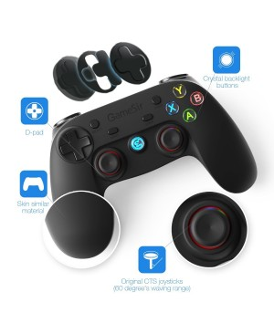 Gamesir G3w Pleine Vibration Feedback Gamepad USB filaire Steam Games Controller pour PC Windows XP/7/8/8,1/10 & Android téléphone portable/Tablette/Smart TV/Android BOX et PS3