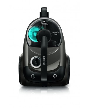 Philips FC9722/09 POWERPRO EXPERT Aspirateur sans sac Classe A Technologie PowerCyclone 6 et Brosse TriActive Max Gris cuivré [Classe énergétique A]