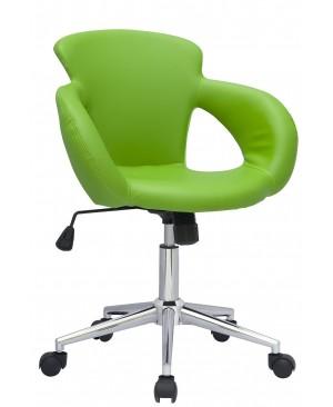 SixBros. Tabouret à roulettes tabouret de travail vert - M-65335-1/2062