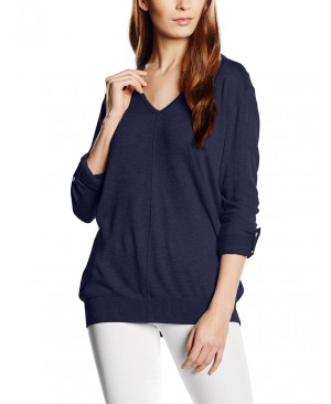 Esprit 016EE1I008 - Pull - Uni - Manches longues - Femme