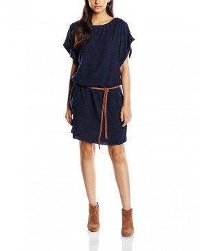 Esprit 125EE1E005 - Robe - Uni - Manches courtes - Femme
