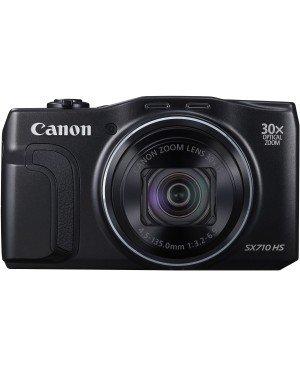 """Canon Powershot SX710 HS Appareil photo numérique Compact 20,3 Mpix Ecran LCD 3"""" Zoom optique 30x - Noir"""