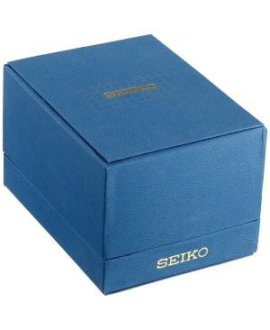 Seiko - SSC081P1 - Solar - Montre Homme - Chronographe - Cadran Noir - Bracelet Cuir Marron