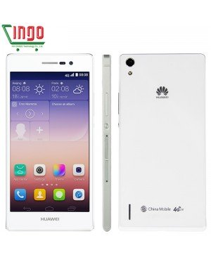 """D'origine Huawei Ascend P7 cellulaire phones4G LTE 5.0 """" IPS 13.0MP appareil photo Android WIFI GPS Quad Core 2 GB RAM 16 GB ROM livraison gratuite"""