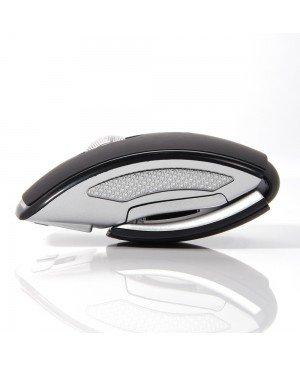 Nouvelle Mini USB 2.4 Ghz Snap - in Optical Transceiver pliable pliant Arc souris sans fil souris pour PC ordinateur portable