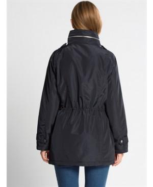 Navy Midi Short coat