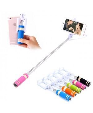Téléphone Mobile Mini - poche Selfie bâton extensible Portable manfrotto trépied pour iPhone Samsung Galaxy plié caméra Selfie