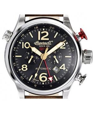 Ingersoll - IN3218BK - Montre Homme - Bracelet Cuir Marron