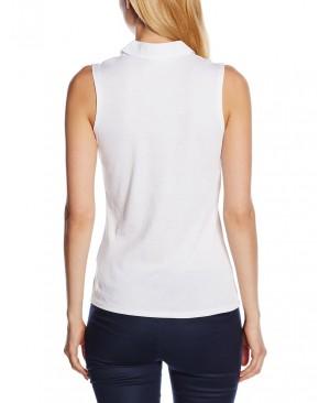 Esprit 046EE1K002 - T-shirt - Uni - Sans manche - Femme