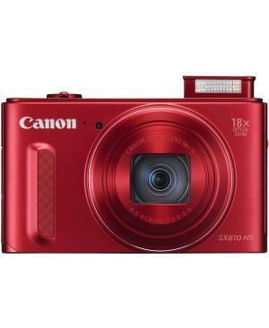 """Canon Powershot SX610 HS Appareil photo numérique compact 20,2 Mpix Écran LCD 3"""" Zoom optique 18X Rouge"""