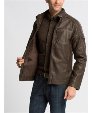 Brown Standard Lightweight Short Short coat
